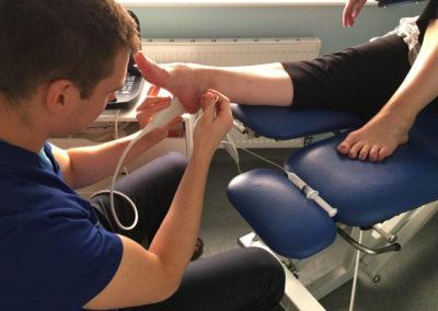 plantar fasciitis treatment using ultrasound